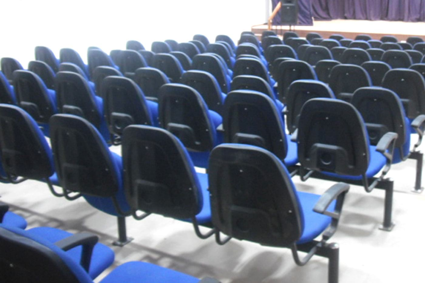 Back side view of Auditorium Furniture