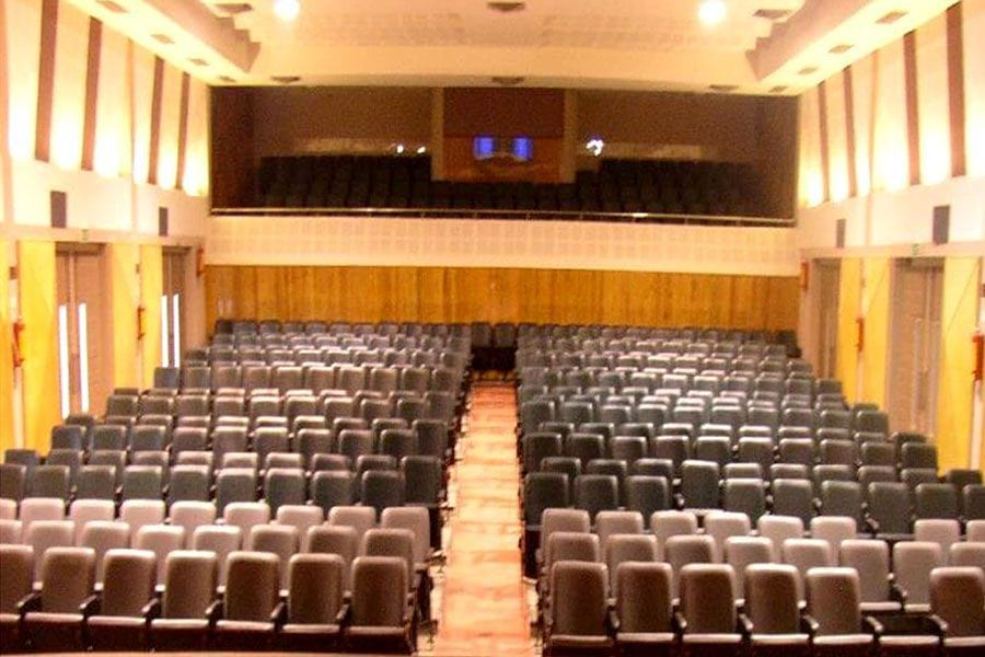 mctm auditorium furniture zoom out view