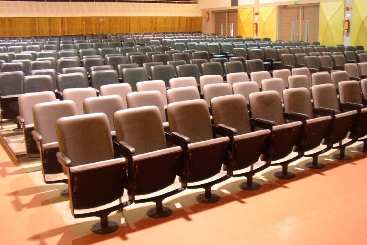 fold-able chair auditorium furniture