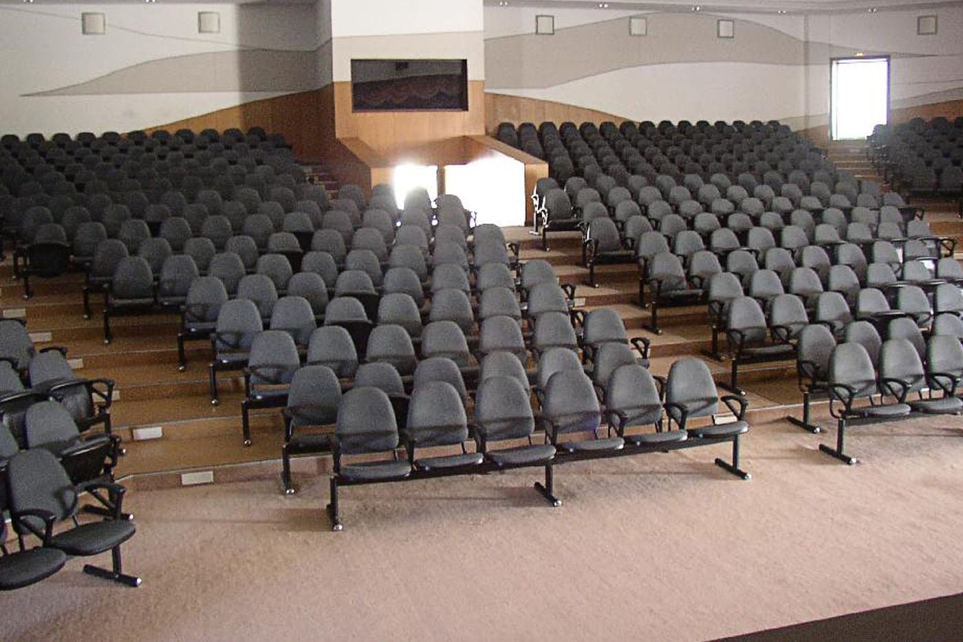 SSN College of Engineering Auditorium Furniture 3 Phase View