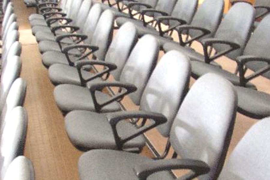 SSN College of Engineering Auditorium chairs Furniture Close View